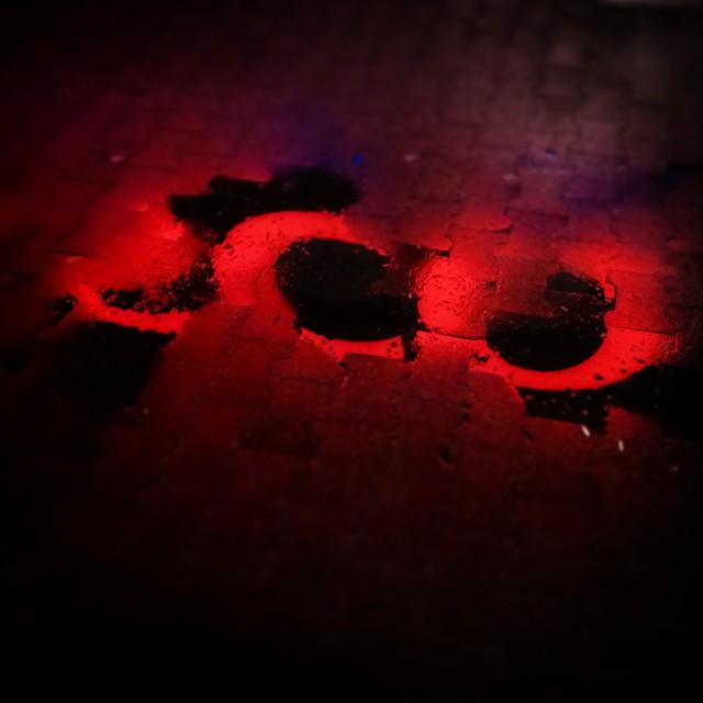 You drink water, I drink gasoline.One of us is happy, one of us is mean.#rain #deszcz #red #czerwony #noc #night