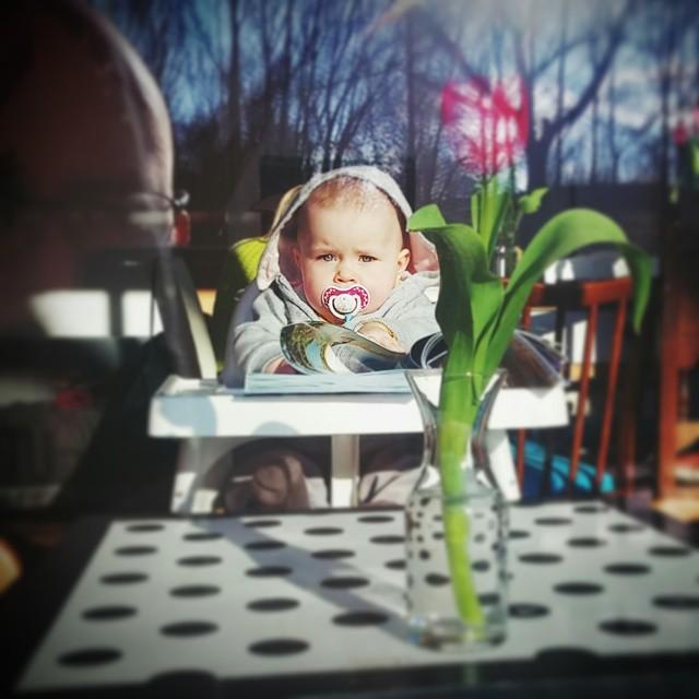 W zimowym słońcu ;)#kid #dziecko #kolorowo