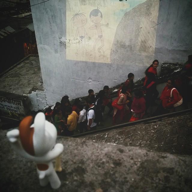 Kino po raz drugi ;)#laxmanjhule #rishikesh #bolekilolek #reksio #india