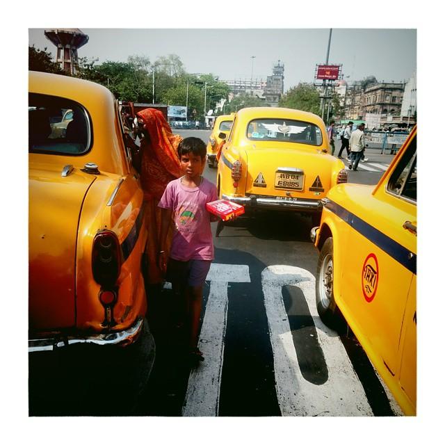 #kolkata #_soi #taxi #india #boy