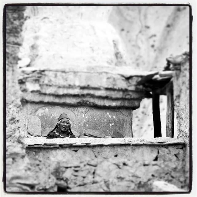 #lamayuru #prayer #old woman #Ladakh #buddhism