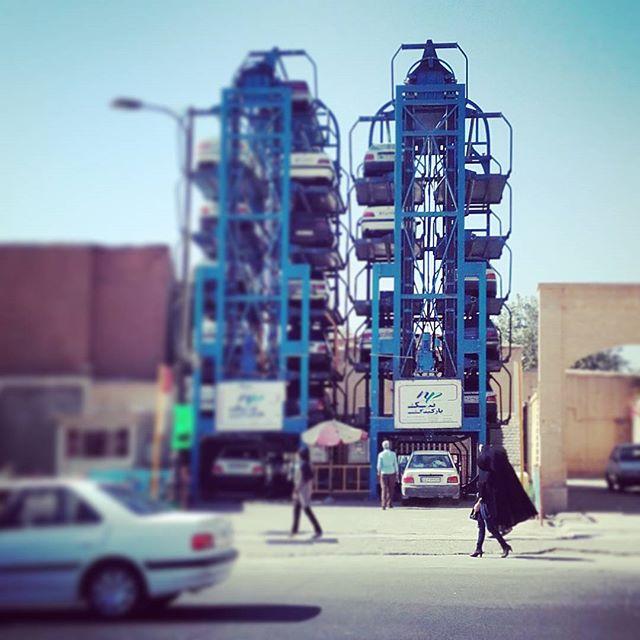 #parking #shiraz #iran Można? Można!