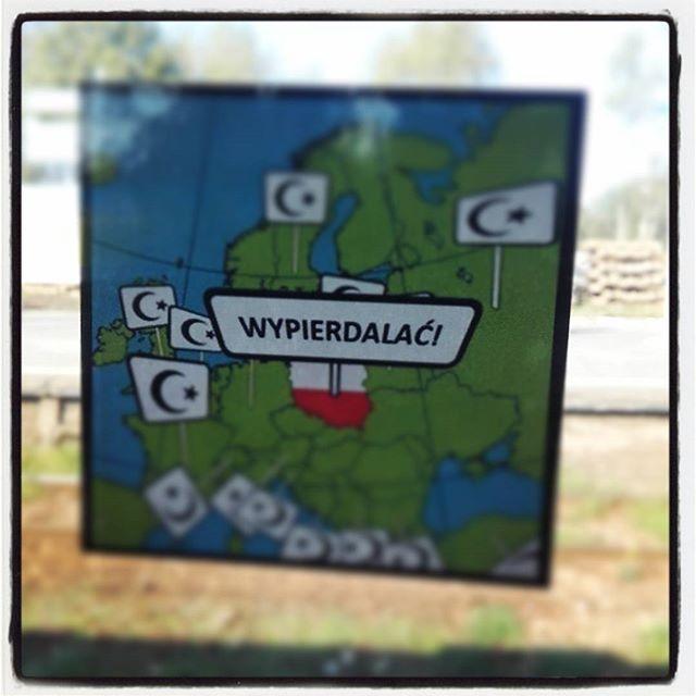 Tak mnie wczoraj Warszawa pieknie żegnała :)