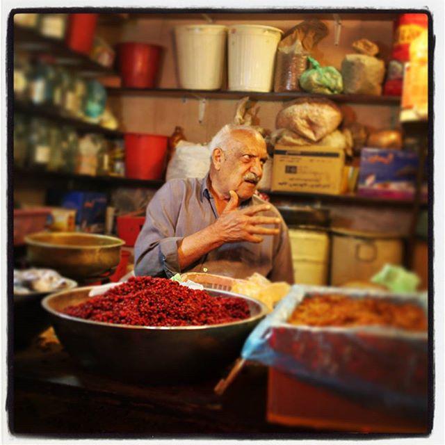 #esfahan #bazaar #spices #przyprawy