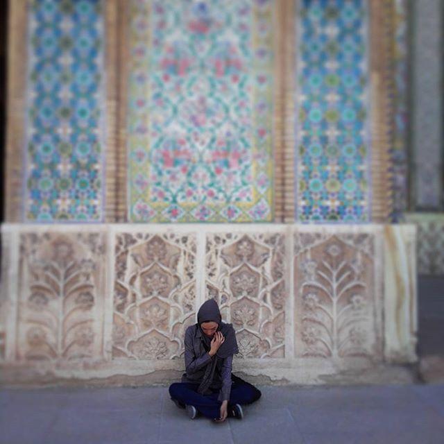 #vakil #mosque one od my favorite placek in #Shiraz#meczet #Vakil. Jedno z moich ulubionych miejsc w #sziraz