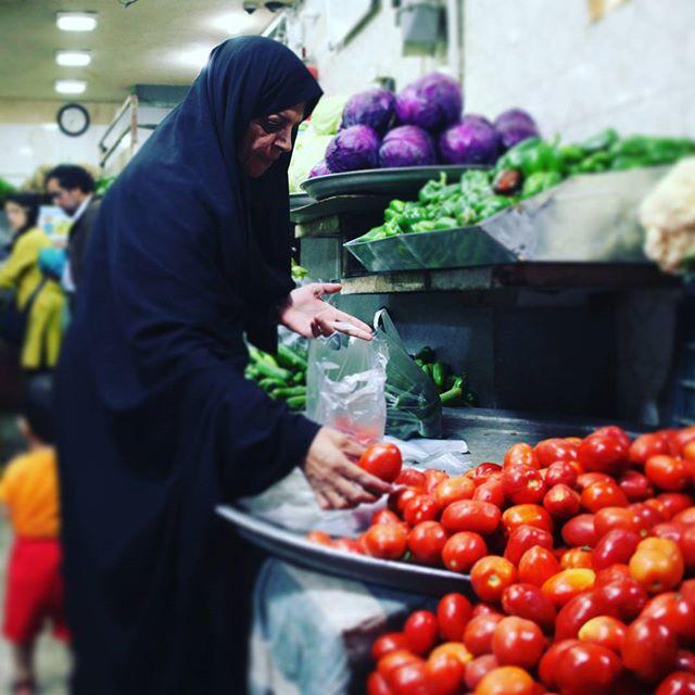 Streets of #Yazd#iran #tomato