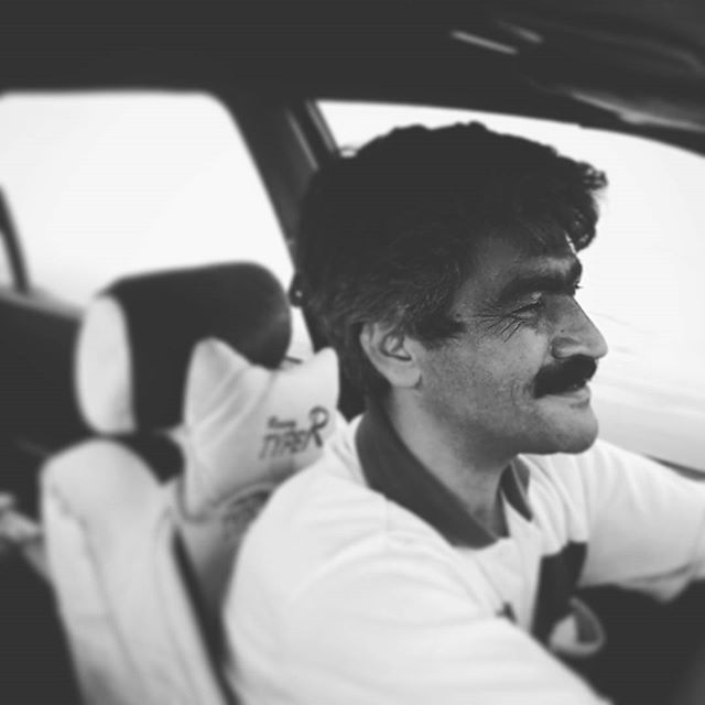 #Mahdi, the #coolest #driver in #kashan :)#iran #instatravel #instairan #irantraveling