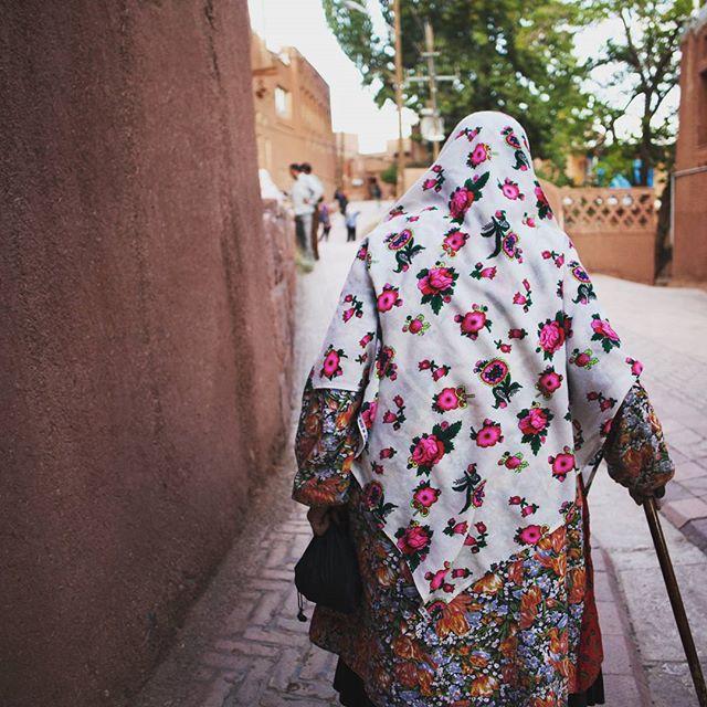 #abyaneh Gdzie kobiety nie noszą czadorów.