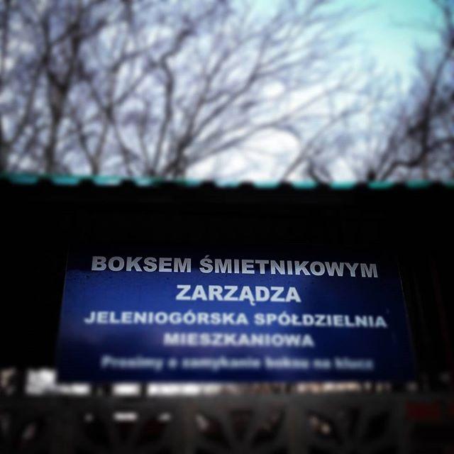 Nowa kategoria #boks u? #jeleniagora #miastoarchipelag;)