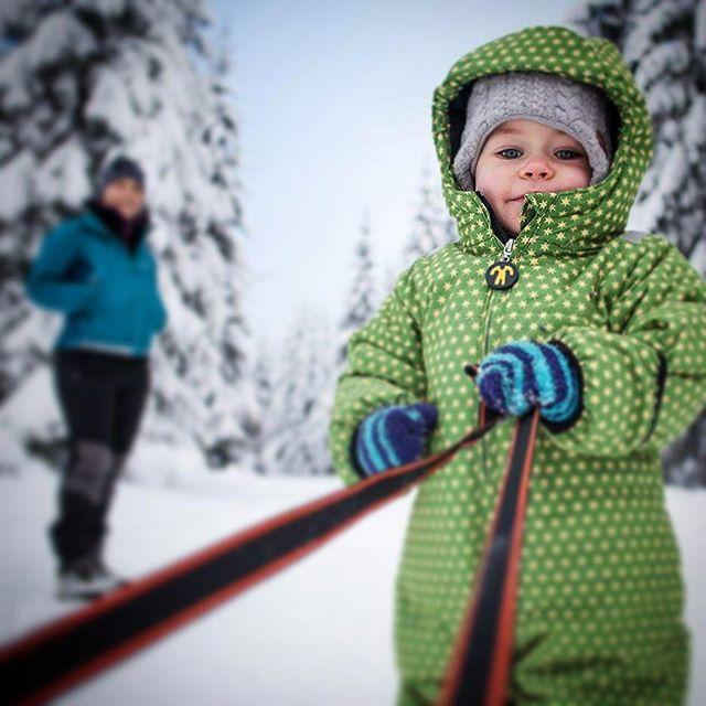 #jakuszyce #sanki #zima #śnieg #dziecko