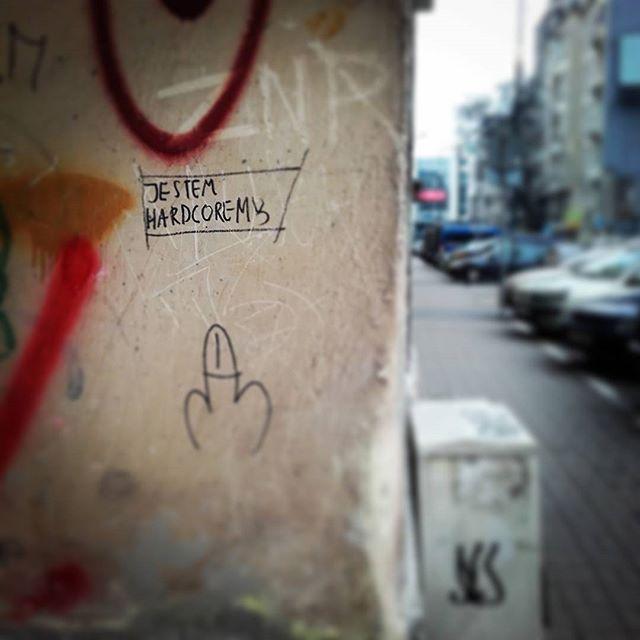 #jestemhardcorem a Ty? :)#Warszawa