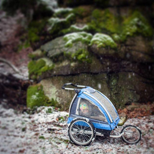 Nagły Powrót Zimy czyli #nordiccab daje radę ;)Dziki Wąwóz w Pokrzywniku ... podejscie drugie ...