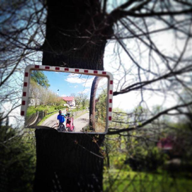 Nieustającą #majowka ;)#nordiccab zmienia perspektywę na jeszcze fajniejszą.#rower #gorykaczawskie