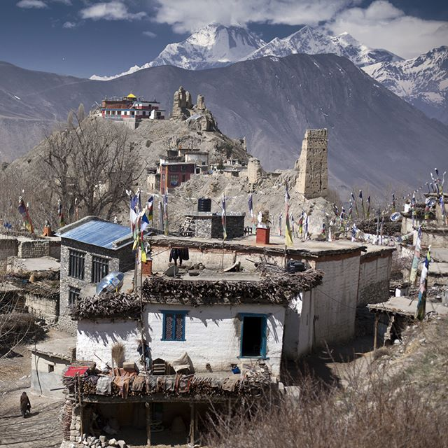#mustang #nepal #dhaulagiri #gompa